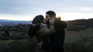 Séance photo de couple dans les Monts d'or